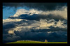In Awe of Waikato Skies<br /> We had a passing shower at work on Monday. As I drove home and looked across at the Kaimai Ranges I was in total awe of that shower, and the sun that followed.