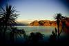 Lake Hawea at Sunset.