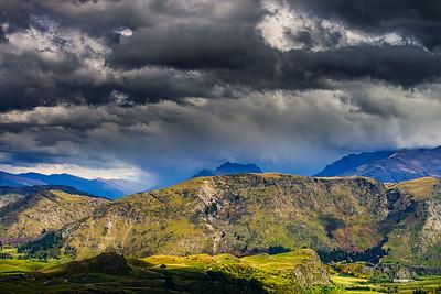 Nor West Clouds Wakatipu Basin Queenstown