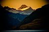 Mt Aspiring at Sunset.
