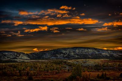 Spidbergseter Sunset
