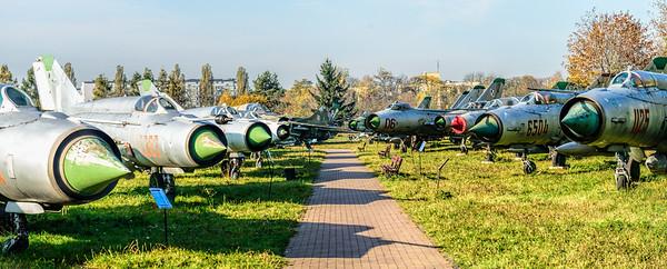Mig by the Nose Muzeum Lotnictwa Polskiego Krakow Poland