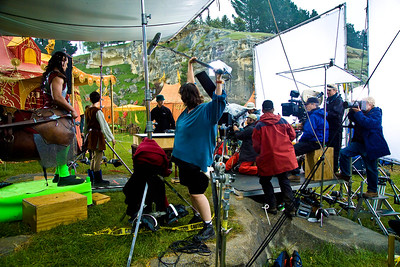 Filming at Elephant Rocks The Lion, The Witch and The Wardrobe
