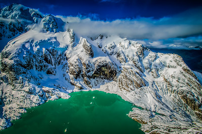 Looking into Wonder Mt Aspiring National Park Fiordland New Zealand