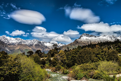 "In search of Oliphants Twelve Mile Delta Queenstown ""Where Sam saw the Oliphants, Ithilien, The Lord of the Rings""."