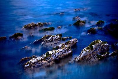 Rock formations. Kaikoura