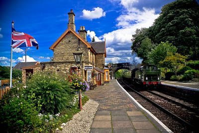 Arley Railway Station Severn Valley Railway This station was used in The Lion, The Witch & The Wardrobe.