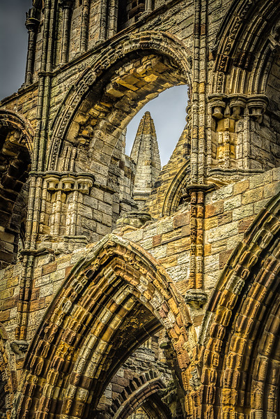 Looking Through the Windows of History (II)<br /> Whitby Abbey