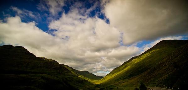 Near Beinn an Lochain Between tarbet and Cairndow