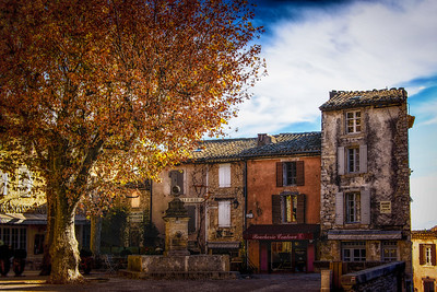 Autumn in Gordes