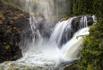 Den absolutte majestet Rjukandefossen Hemsedal Hallingdal Norway
