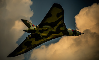 A Break in the Clouds Avro Vulcan