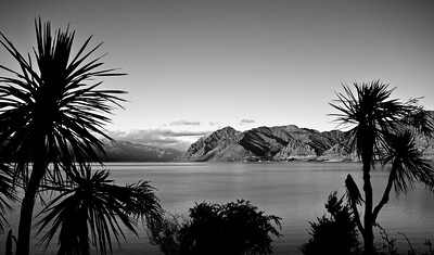 Sunset Lake Hawea