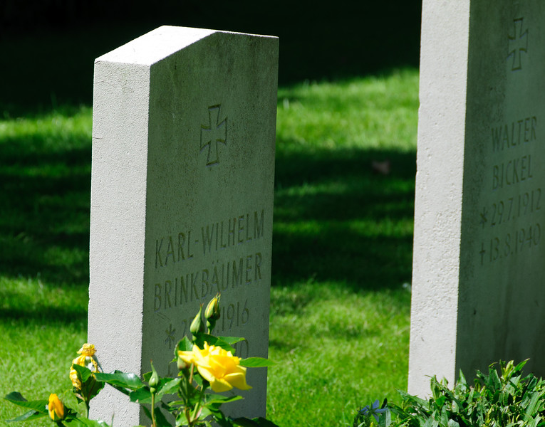 A Luftwaffe pilots grave (one of many) in St Andrews Churchyard, Tangmere. May they Rest in Peace.