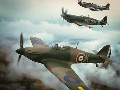 Flying with the Hunters Wanaka  K (Keith Skilling) FU-P (Ray Hanna) 524 (Steve Taylor)