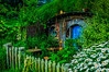 It was the daisies with a blue door<br /> Hobbiton Movie Set<br /> Matamata<br /> New Zealand
