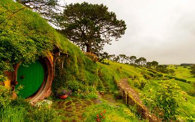 Waiting for Gandalf Hobbiton Movie Set