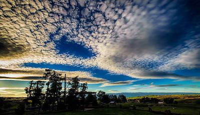 Sunset at Pukerangi (II) Middlemarch Strath Taieri