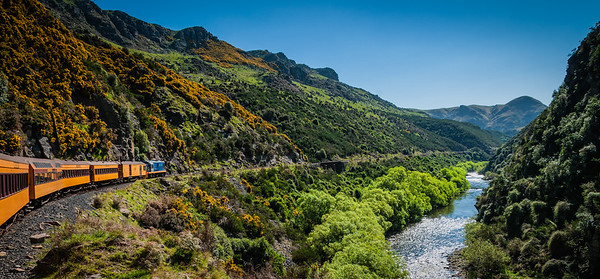 The Journey into the Magic Land Taieri Gorge Railway Dunedin Otago
