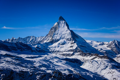 The Matterhorn from the Gornergrat