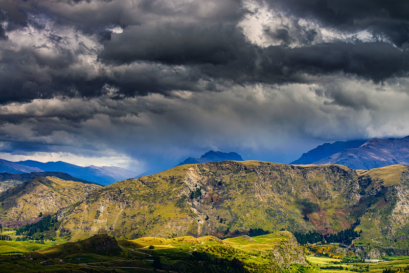 Nor West Clouds<br /> Wakatipu Basin<br /> Queenstown