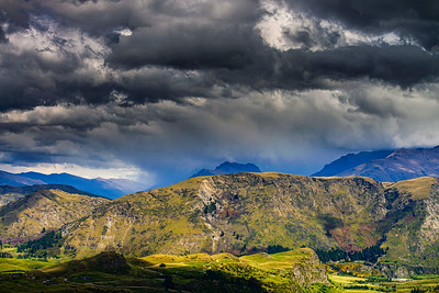 Nor West Clouds Wakatipu Basin Queenstown