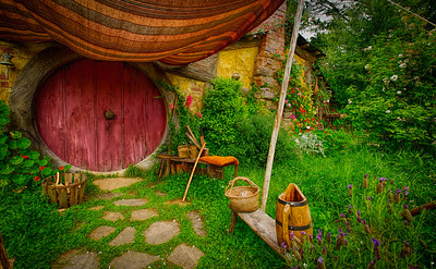 Well, I'm Back Hobbiton Movie Set Matamata New Zealand