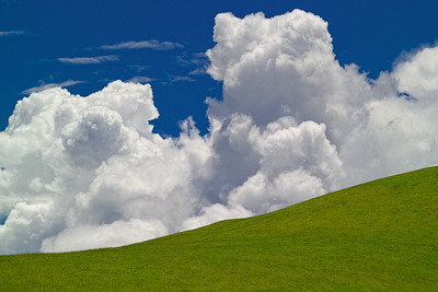Clouds in The Shire