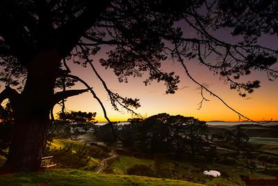 A Sunrise Seat The Shire