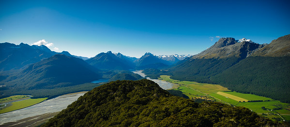 A view towards Isengard from Glenorchy.