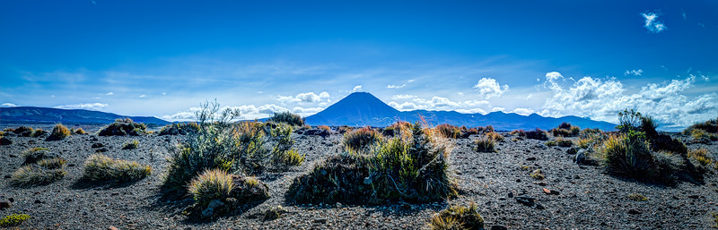 Tongariro National Park Summer Desert Beautiful