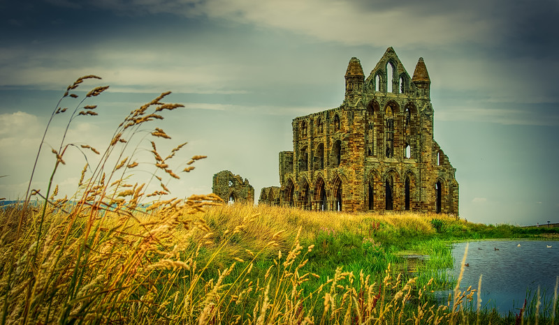 Stare in wonder<br /> What these walls have seen<br /> Whitby Abbey