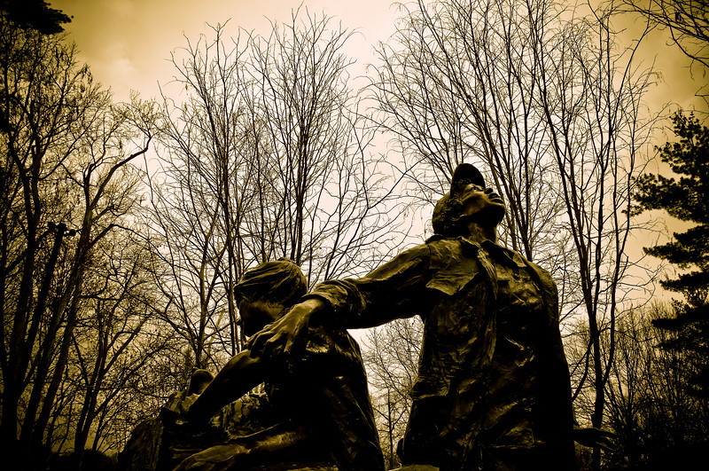 We Will Remember Them (IV)<br /> Vietnam Women's Memorial<br /> Washington DC<br /> <br /> Honouring all women that served in Vietnam.<br /> Many were nurses, who coped with intolerable conditions.