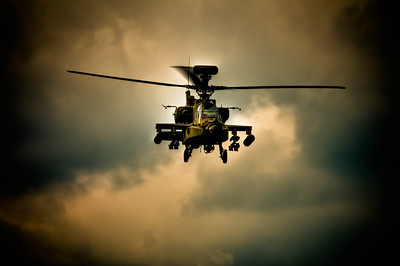 Apache! One of the most amazing helicopters you will ever see.