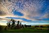 Sunset from Pukerangi Country Retreat.