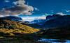 Leaving Geiterygghytta<br /> Hallingdal<br /> Norway