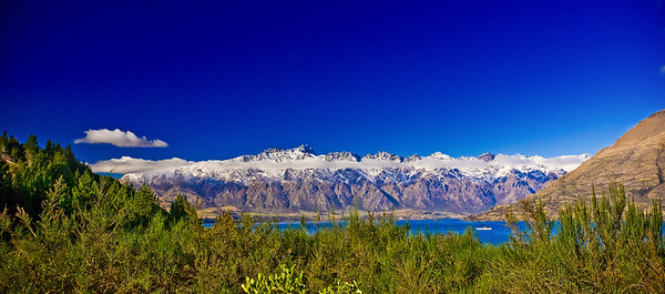 The Remarkables from near Closeburn, Queenstown