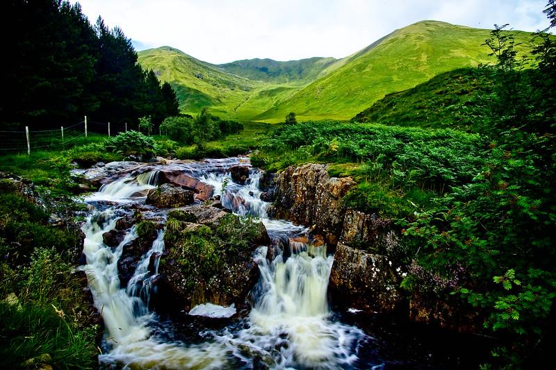 Where Scotch really comes from.<br /> Near Loch Loyne