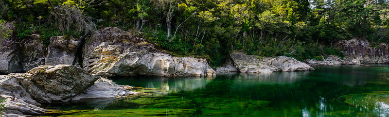 The River Running South Island New Zealand