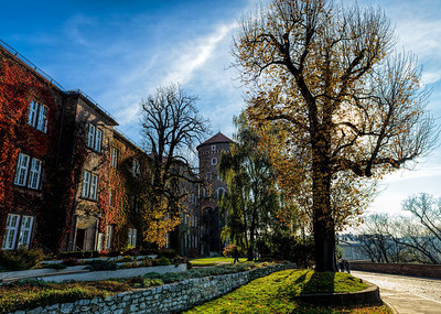 As we walked, I thought, it was just a perfect day. Wawel Royal Castle Krakow Poland