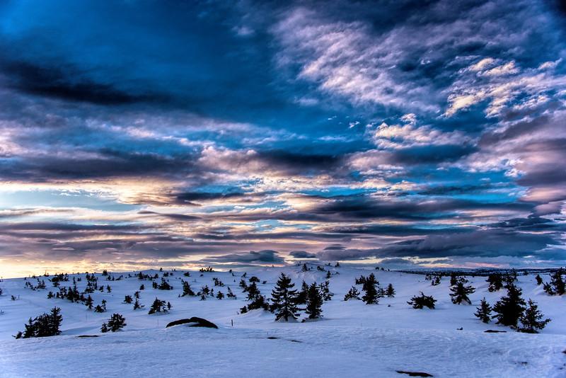 Sjusjøen Sunset (1)