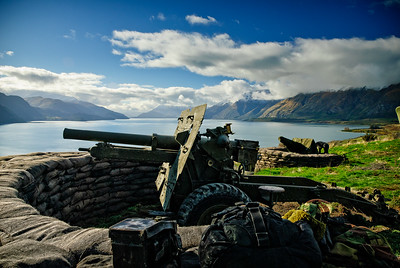 Armour on Wakatipu On location with The Water Horse Lake Wakatipu, Queenstown, New Zealand