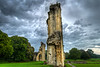 Staring in awe at the<br /> Walls of Dreams<br /> Glastonbury Abbey