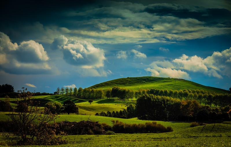 A green sort of a day (II)<br /> Matamata