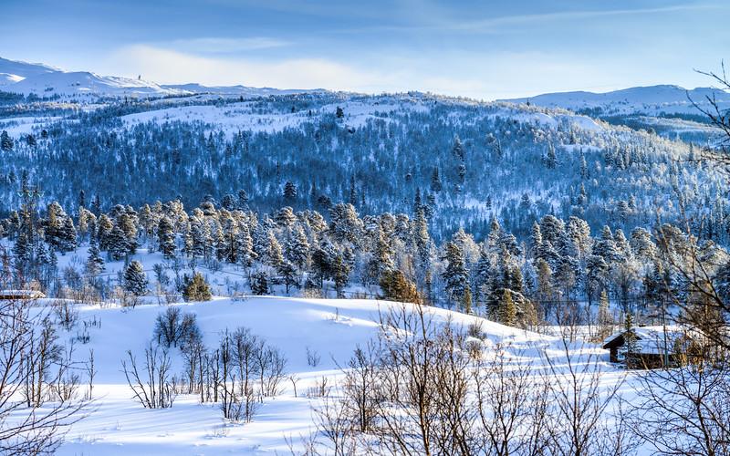 A Mountain Cabin<br /> Hardangervidda<br /> Rjukan<br /> Norway