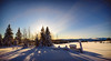 A Winter Afternoon<br /> Near Lillehammer<br /> Norway