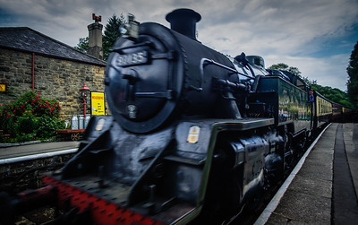 The Hogwarts Express Goathland Yorkshire