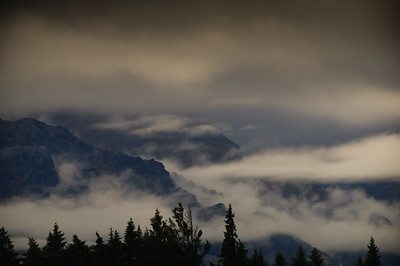 The Misty Mountains near Queenstown.