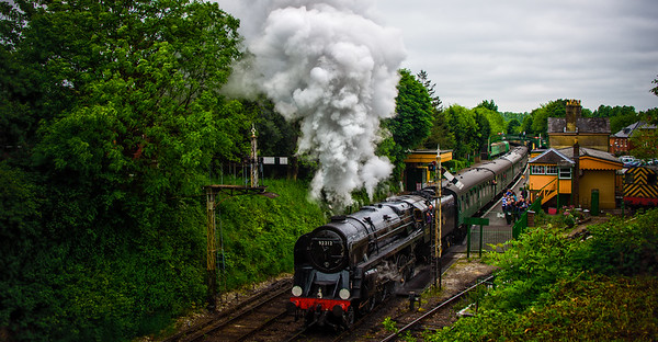 Steam on the Watercress