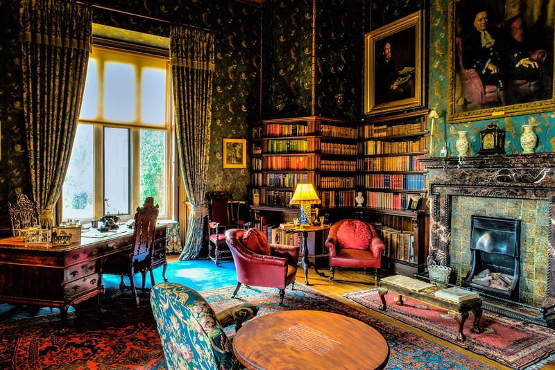Quiet Time<br /> Dunster Castle<br /> Dunster<br /> England